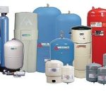 AMTROL, founded in 1946, is a maker of water heaters, pressure boosters, well tanks, chemical containers and other storage and control systems. Above, a sampling from its family of products. /