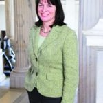 'RHODE ISLANDERS need a bold vision that offers long-term budget solutions,' said Lt. Gov. Elizabeth H. Roberts, but 'the governor's proposal for broad personnel cuts does not assure greater government efficiency.'   /