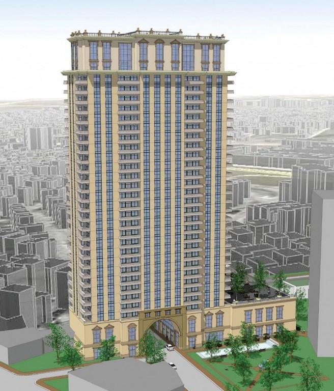 THE PROPOSED Vista Della Torre, an $80 million luxury condominium complex, is opposed by many on Providence's West Side. /