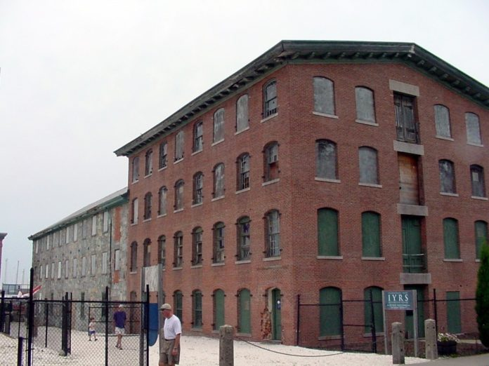 The $7.5 million restoration of the 1831 Aquidneck Mill Building will bring new life to Newport's Lower Thames St. /