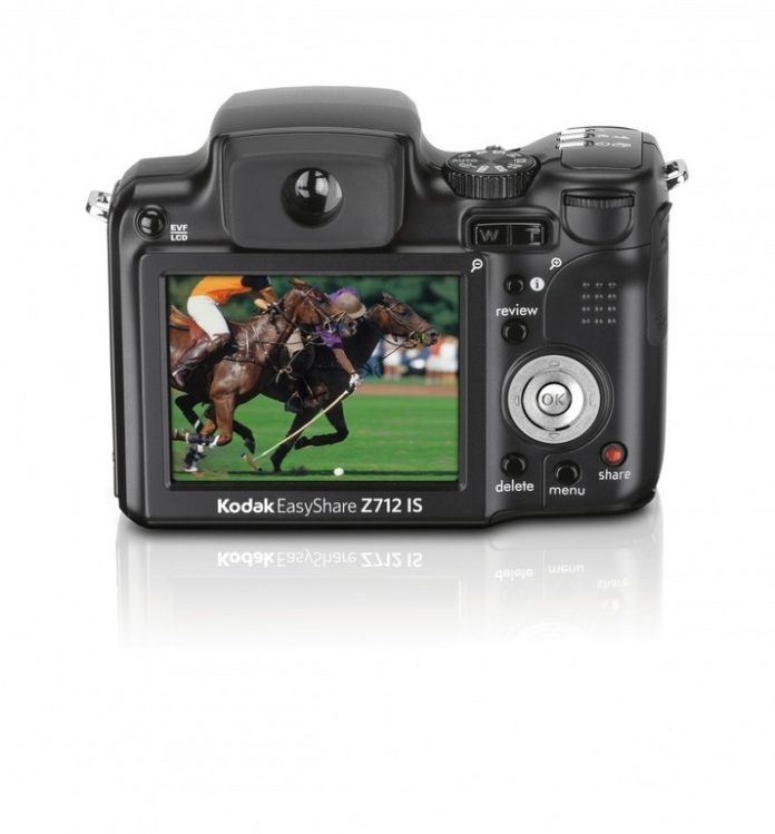 TAUNTON, MASS.-BASED Kopin is supplying Kodak with the electronic viewfinder for its new Z712 IS digital camera. /