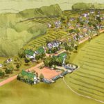 THE DESIGN for a mixed-use artist community on the edge of the 200-acre Sandywood Farm in Tiverton has won an award for its application of New Urbanism concepts to a rural site. /