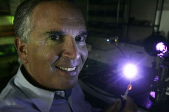 INNOVATOR OF THE YEAR: Serial entrepreneur Robert Rabiner, whose new IlluminOss Medical Inc. in Middletown is stabilizing shattered bones using a light-activated glue. /