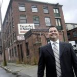 Jeffrey Brooks bought the former Grant Mill in Providence, more recently known as Carpenter Mills, last year, and has now sold the property for $2.4 million. /