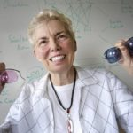 ELIZABETH PIEROTTI, an inventor and educator, is working to bring her innovative eyeglass design to the market. /