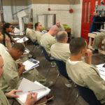A SELECT GROUP of minimum-security inmates at the ACI is being taught the latest in construction technology in a partnership with CCRI. /