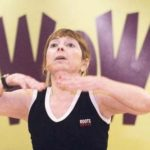 """GERI GIVANI leads a group in her """"Forever Young"""" workout class at Work Out World in Warwick. The classes offer people 50 and older a chance to stay fit. /"""