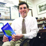 BLACKSTONE VALLEY Tourism Council President Robert Billington, with the new Green Visitor Guide. /