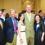 FROM LEFT: Donald Gudaitis, American Cancer Society New England Division CEO, stands with wine tasting committee members, Michael Nissensohn, Susan and Mark Gasbarro, Grace Dugan and Greg Pizzuti. /