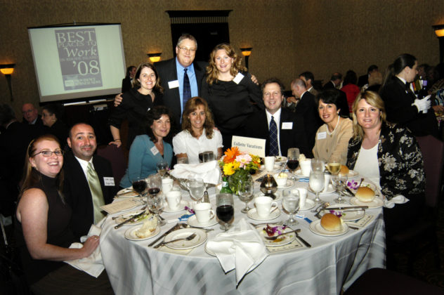 Proud honorees from Collette Vacations, a winner in the Large Category. / PBN Photo/Frank Mullin