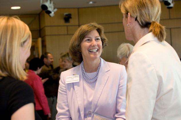 Career Achievement Honoree Constance Howes, CEO of Women & Infants Hospital. / PBN Photo/Stephanie Ewens
