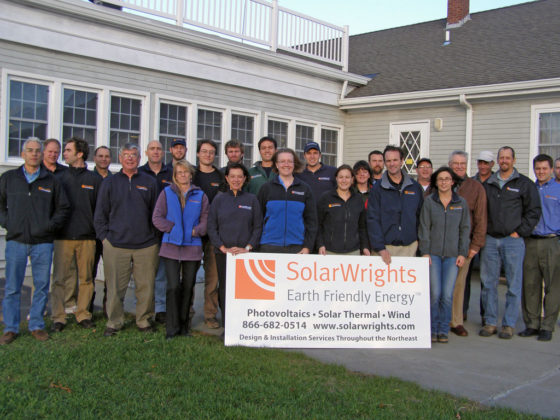 SolarWrights, Inc., a winner in the Small Category. / PBN Photo/Frank Mullin