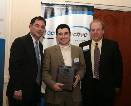 David Berube, founder of MoFuse Inc., is recognized as the Rising Star Innovator. / PBN Photo