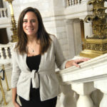 PUBLIC SERVICE: Amy Kempe took over as Gov. Donald L. Carcieri's spokeswoman in July after a long tenure in the private sector. /