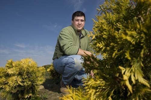 Harvesting The Future Rhode Island Nurseries General Manager Jesse Rodrigues Says A Pond Built With