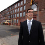 A BETTER PLACE: Thomas A. Mann Jr., executive director of The Pawtucket Foundation, says that despite the economic crisis, projects are ongoing in the city. /