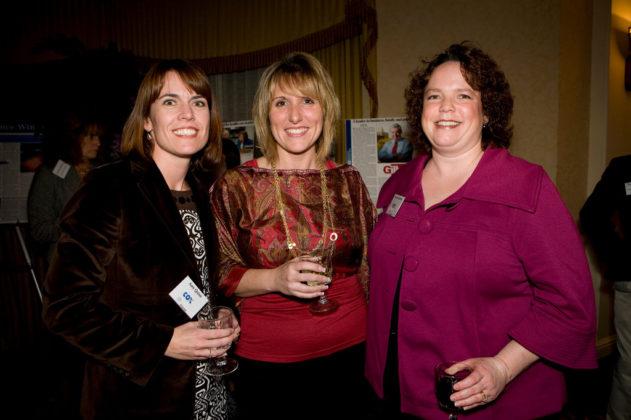 Amy Quinn, Leslie Zarrella and Suzette Roberts of Cox Communications. / PBN Photo/Victoria Arocho