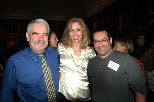 Mark Scott(l), Suzanne Elsbecker, and Gregg Brazil, Cox Business. / PBN Photo/Frank Mullin