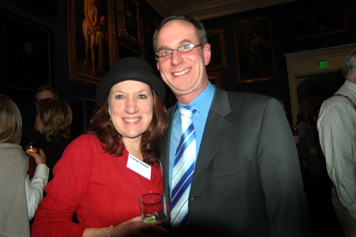 Tom and Nancye Stocker enjoy the evening's festivities. / PBN Photo/Frank Mullin