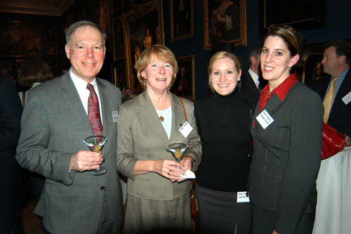 James & Susan Murphy, Kelly Sweeney, Sara Fontes, Hanson Curran LLP. / PBN Photo/Frank Mullin
