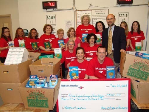 Bank Of America Donates 45k To Ri Food Bank Providence Business