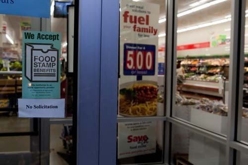 FOOD FOR THOUGHT: The Save-A-Lot supermarket on Branch Avenue in Providence is among the stores accepting food stamps. /