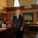 INN CROWD: Linda Naiss, director of marketing for the Bristol Harbor Inn, says that small venues are dependent on last-minute bookings. /