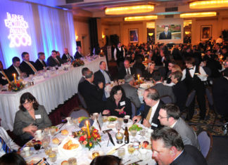 Guests fill the Ballroom for dinner and the awards presentation / PBN Photo/ Frank Mullin