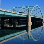 THE PROVIDENCE RIVER BRIDGE carrying Interstate 195 recently won an award from the American Council of Engineering Companies Massachusetts and Rhode Island chapter. /