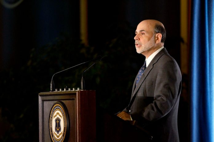 FEDERAL RESERVE CHAIRMAN BEN S. BERNANKE was the keynote speaker at the Rhode Island Public Expenditure Council on Oct. 4.  /