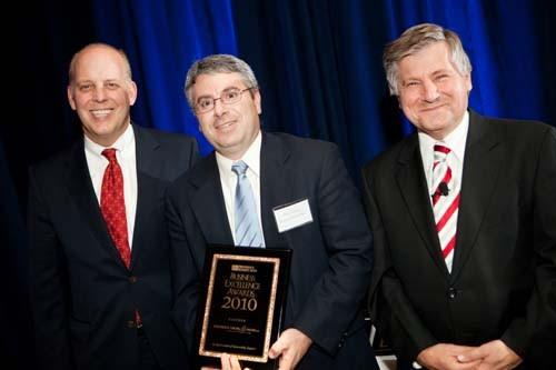 PBN, Roger Begenheim(left), Chris Cassara (center),Partridge Snow & Hahn, and Frank Coletta, NBC 10 / Rupert Whitely