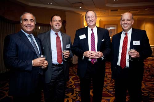 (L-R) Ron Stabile, Starkweather & Shepley, Chris Santilli and Roger Bergenheim, PBN and Mark Male.