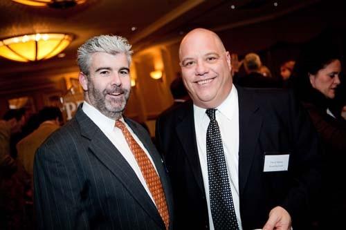 Larry Marchese, Legion 13 and David VIttorio, Blount Fine Foods.