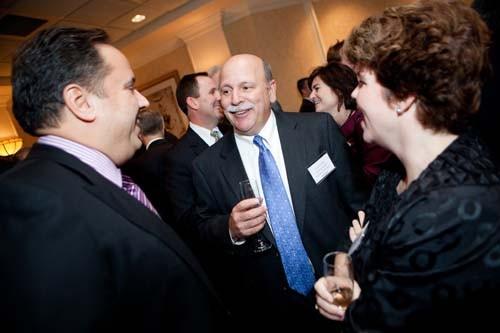 Corporate Citizenship winner, Gary Furtado (center)at the BEA reception.