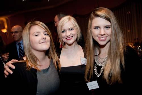 Kristen Healy, Honoree Lolita Healy, Caroline Healy