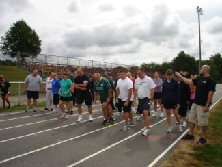 2010 Fall Fitness Challenge - Fit Test