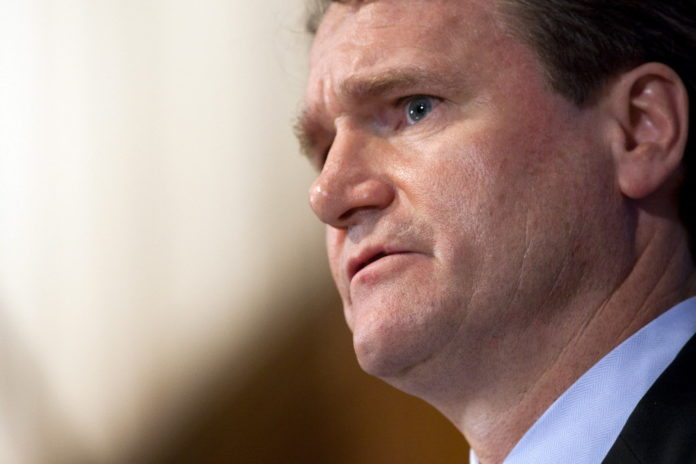 FILE PHOTO: BRIAN T. MOYNIHAN, Bank of America CEO, will continue putting out fires in 2011. /