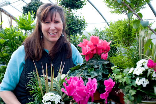 IN BLOOM: Metamorphosis Design owner Michelle Sousa will participate in the R.I. Spring Flower &