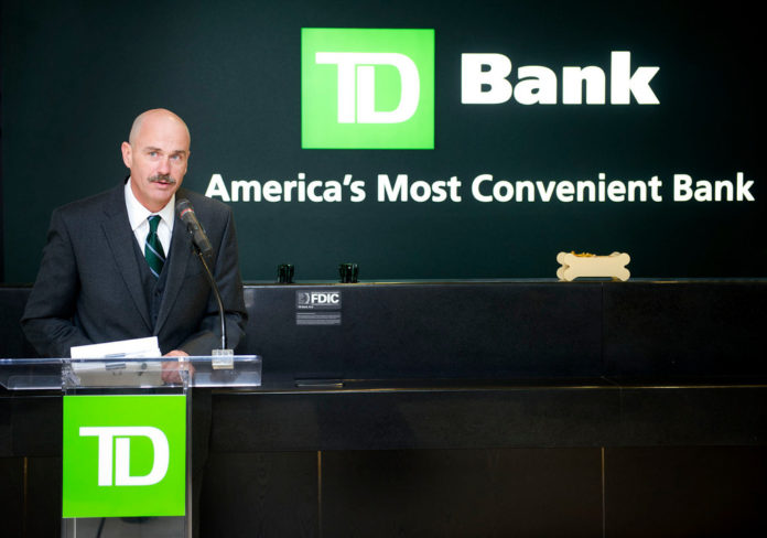 FILE PHOTO: TD Bank Rhode Island Market President Bob Kolb at the 'store' opening at 180 Westminster St. /