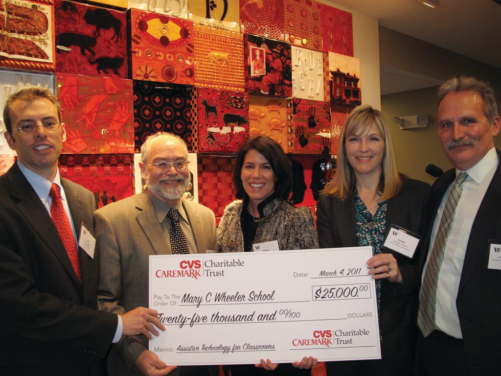 cvs caremark charitable trust makes  25 000 grant to