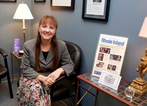 SWEET MUSIC: Elisabeth Galligan, founder and president of Newberry Public Relations and Marketing Inc., wanted to teach, before discovering her calling. /