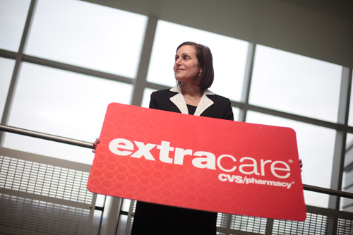SHOWING SHE CARES: More than 66 million Americans use the CVS ExtraCare card, a 10-year-old program Senior VP of Pharmacy-Benefits Management Bari Harlam managed from concept to execution. /