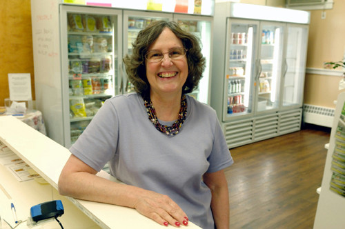 FOOD FOR THOUGHT: Kathi Thibutot, owner of Healthy Haven, based her store on meeting the needs of fellow celiac disease sufferers. /