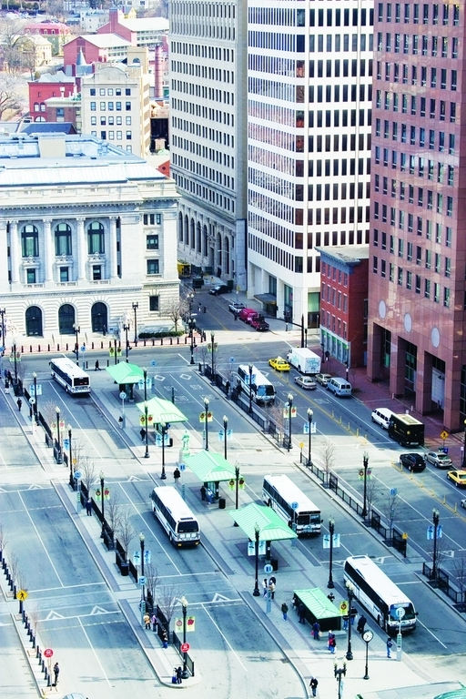 PROVIDENCE HAS been awarded a $200,000 grant that will go toward making Kennedy Plaza a livelier arts and culture center. /