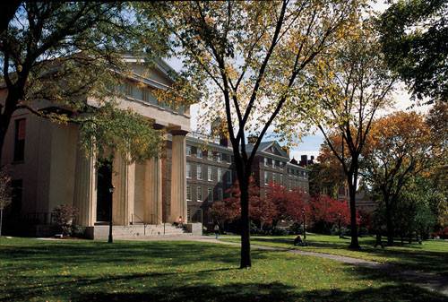GIVING BACK? Brown University is currently speaking with Mayor Taveras' administration about how to help the city financially, a spokeswoman said. /