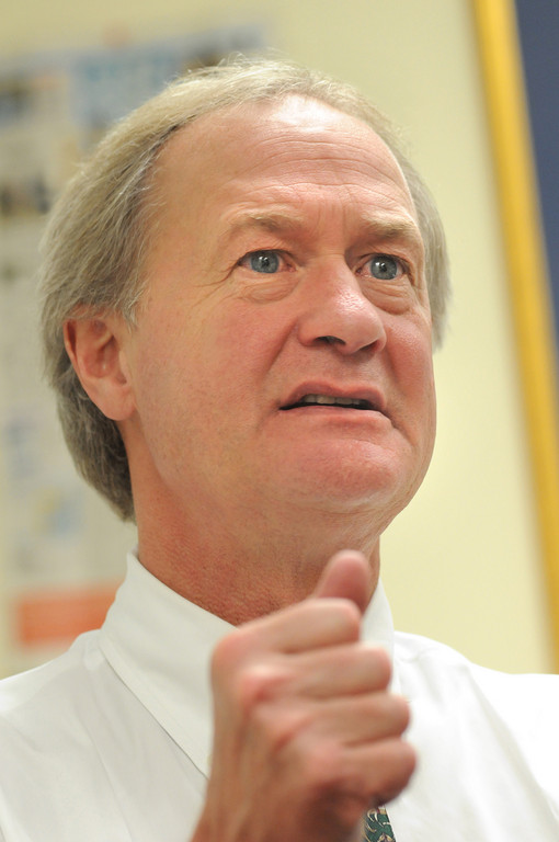 THE CRITICAL status test for included in Gov. Lincoln D. Chafee's pension reform legislation may be irrelevant. / PBN FILE PHOTO/FRANK MULLIN