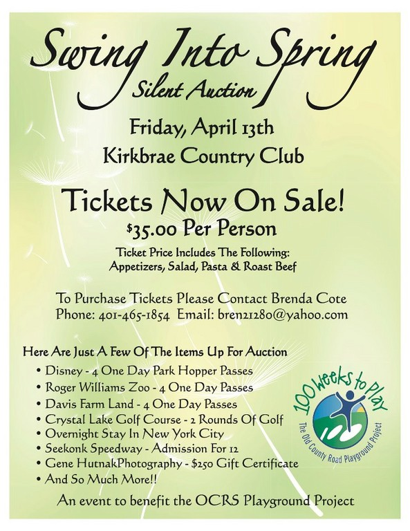 Swing Into Spring Silent Auction and Gala Benefit
