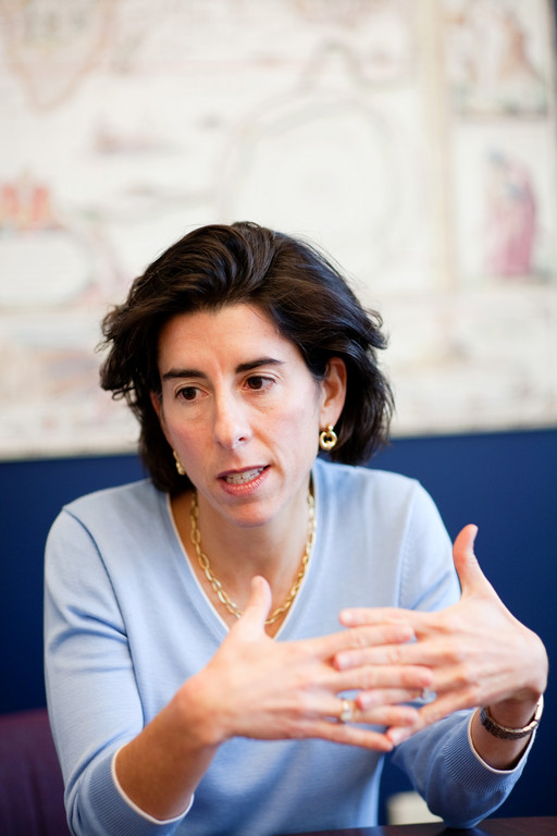THE STATE has launched the Ocean State Investment Pool with Fidelity Investments, General Treasurer Gina M. Raimondo announced Monday.  / PBN FILE PHOTO/RUPERT WHITELEY