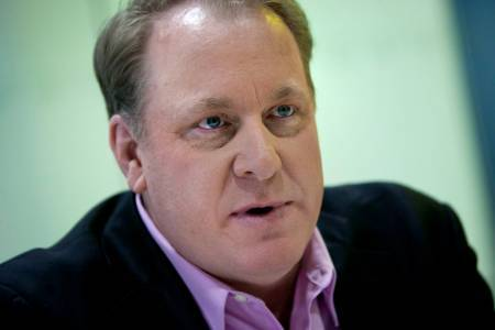 CURT SCHILLING, founder of 38 Studios LLC and a former Boston Red Sox pitcher, attended the R.I. Economic Development Corporation's monthly meeting Monday, looking to help his video-game company deal with a severe cash shortage, but the EDC adjourned without taking any action. / BLOOMBERG FILE PHOTO/SCOTT EELLS