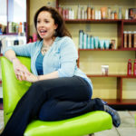 HAIR AND NOW: Luz Arteaga Pray, owner of Hairspray Salon on Wickenden Street in Providence, has transformed the salon into a full-service spa with an art-gallery component. / PBN FILE PHOTO/RUPERT WHITELEY